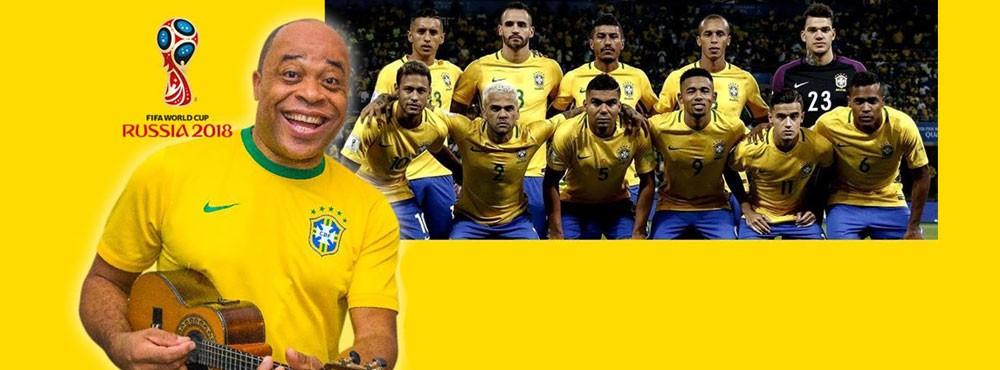 BAR BRASIL FÖLJER BRASILIENS LANDSLAG MED SAMBAFEST &STORBILDSSKÄRM   Special guest: BRUNO NASCIMENTOST
