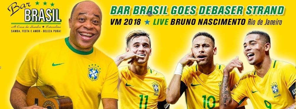 VM-Frossa 2018 | Bar Brasil Party |  Brazil–Mexico