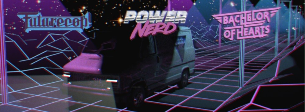 VHS Vision VI | Live:  Futurecop! (UK) | Powernerd (AUT) | Bachelor of Hearts DJ-set (FIN)