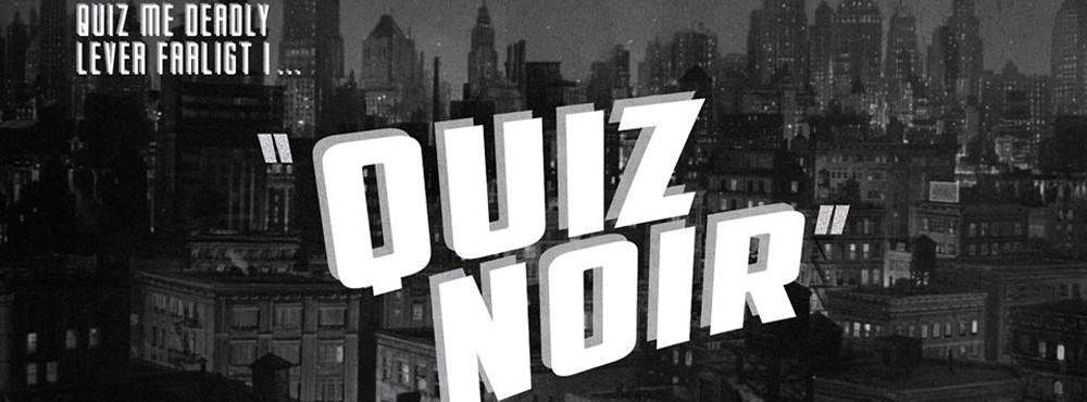 Quiz Noir   Nya Filmquizet
