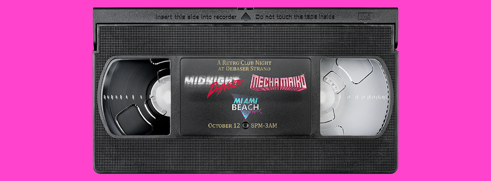 VHS Vision IX | Mecha Maiko | Midnight Danger | Miami Beach Force