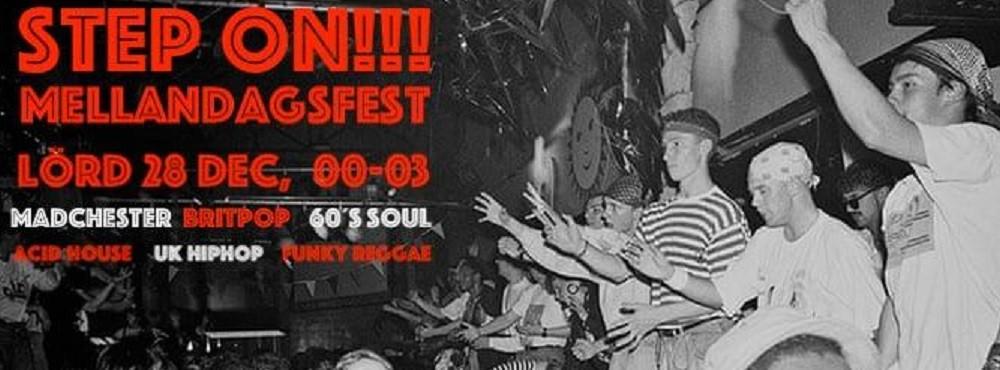 DJs STEP ON | Special Guest DJ för kvällen: SCOT JAMES. | FRI ENTRÉ