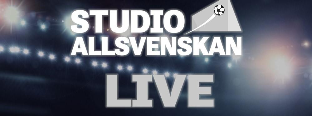 Studio Allsvenskan- LIVE! ---> OBS! FRAMFLYTTAT!