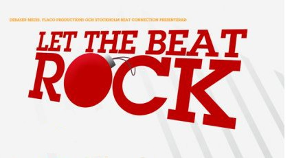 Let the Beat Rock med JASON DIAKITÉ dj-set + Supreme + Pom Pom