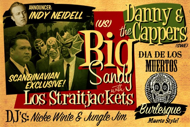 Rocket Room #35 - Big Sandy & Los Straitjackets + Danny & the Cappers