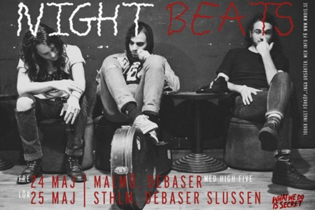 High Five och WWDIS presenterar Night Beats + The Shrine