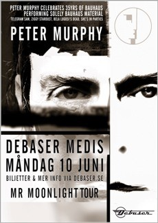 Mån 10 Jun, Peter Murphy