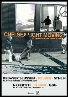 Mån 10 Jun, Chelsea Light Moving