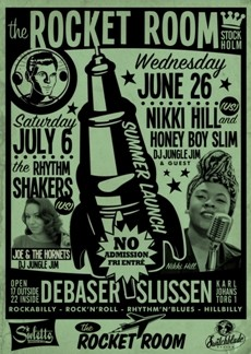 Ons 26 Jun, Nikki Hill (US) and The Honeyboy Slim