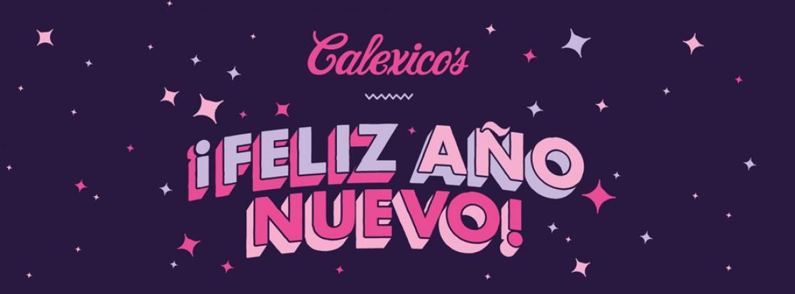 Feliz Año Nuevo! - Nyårsmeny och fest på Calexico's