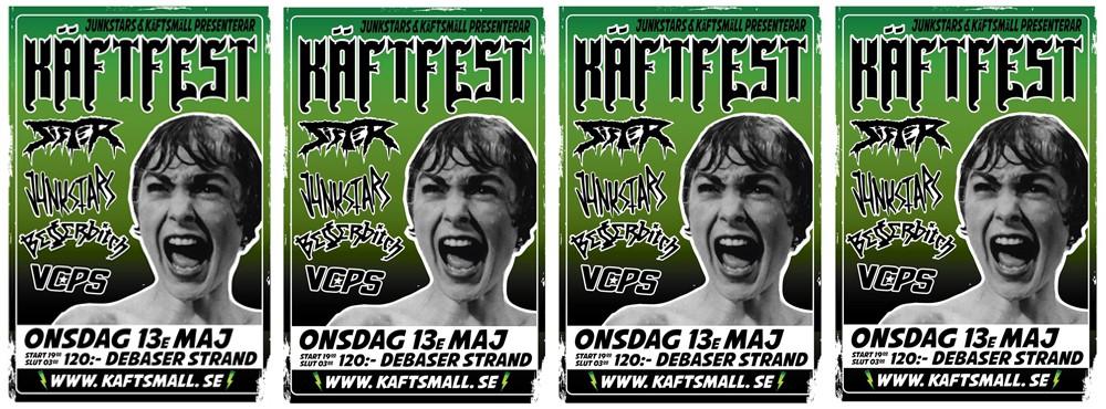 Käftfest! Live: Sister + Junkstars + Besserbitch + VCPS