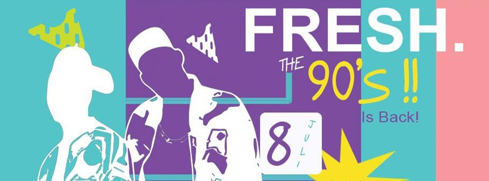 FRESH. The 90s!!